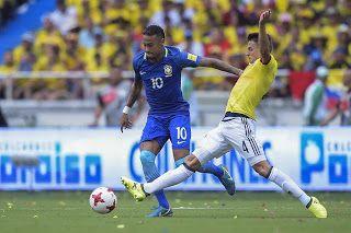 Blog Esportivo do Suíço:  Brasil empata com Colômbia e perde 100% com Tite nas Eliminatórias