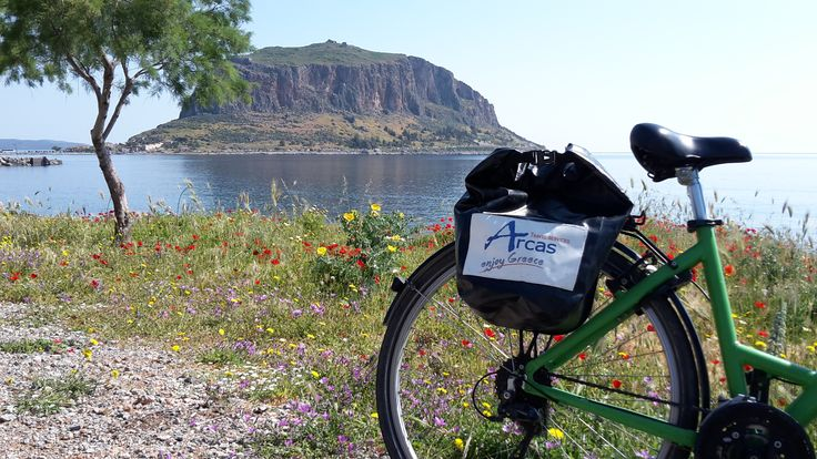 cycling in Monemvasia!