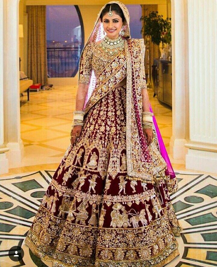 I like it this bridal lehanga