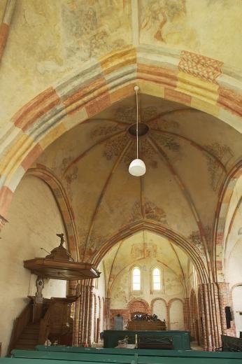 Oude Groninger Kerk | interieur | Garmerwolde