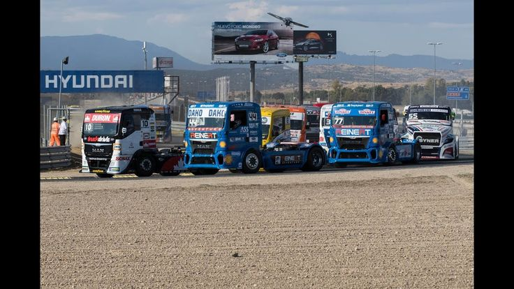 Reviewing the 4 truck races of FIA ETRC Round 8 at Jarama