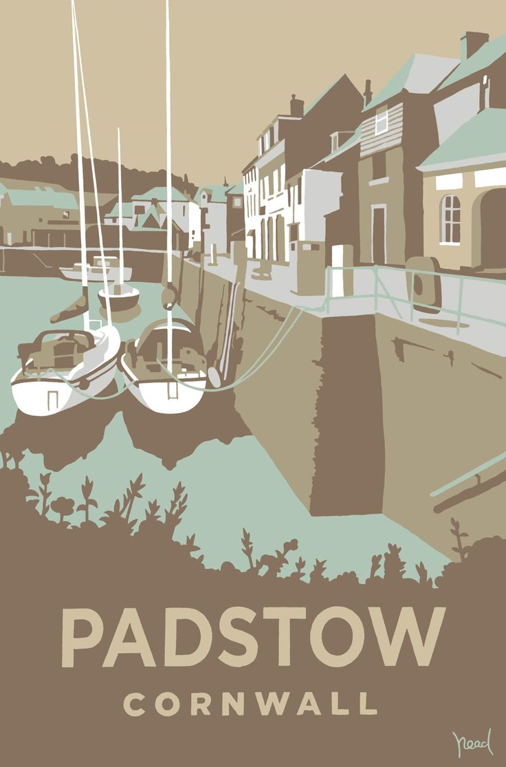 Padstow 2 (SR16) Beach and Coastal Print http://www.thewhistlefish.com/product/p-sr16-padstow-2-art-print-by-steve-read #padstow #cornwall