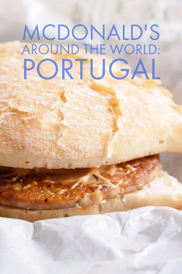 Trying local specialties from McDonald's around the world! First stop: Portugal :)