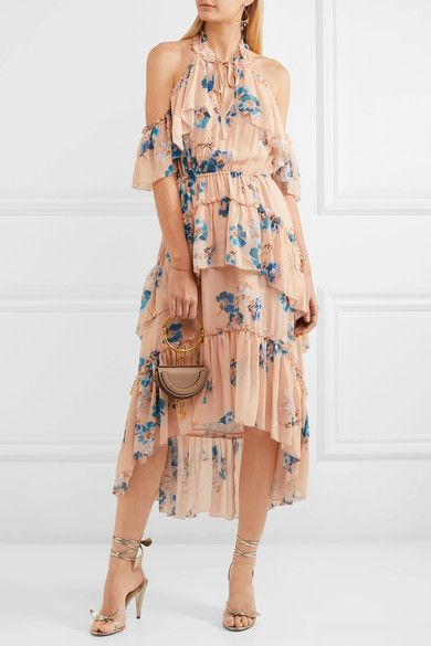 Ulla Johnson | Valentine ruffled floral-print silk-georgette dress | NET-A-PORTER.COM