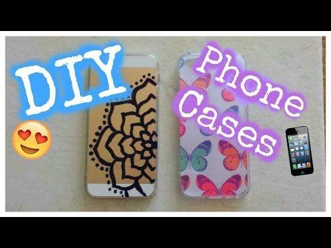 DIY Iphone Cases - YouTube