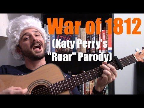 """▶ War of 1812 (Katy Perry """"Roar"""" Parody) - @MrBettsClass - YouTube"""