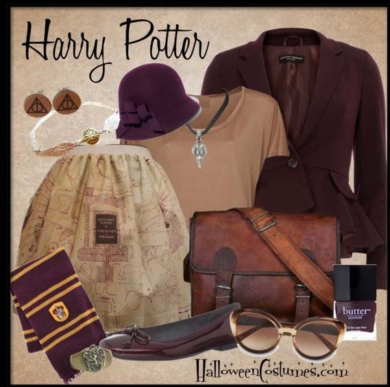 Movie Inspiration Harry Potter Halloween Costum Ideas on Hailey Bright at http://haileybright.buzznet.com/photos/movieinspirationsoft/