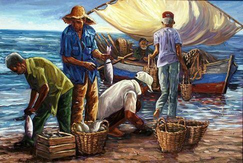 Oficios Marineros. Hay oficios propios de quienes trabajan en la mar. Desde el que se dedica a la pesca hasta el que se encarga de la gobernación de un barco. ¿Cuáles son los oficios relacionados con la