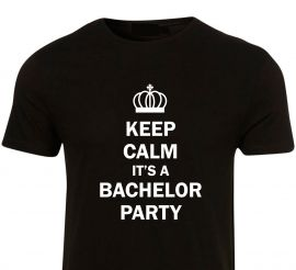 Tricou burlac It's party time
