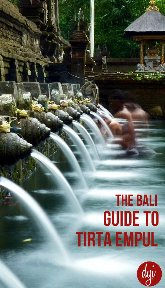 Located a short drive outside of Ubud, Tirta Empul is one of the most famous…