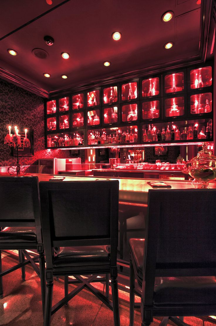 Hotel Design Scarlet At The Palms Casino Las Vegas Hospitality Interior