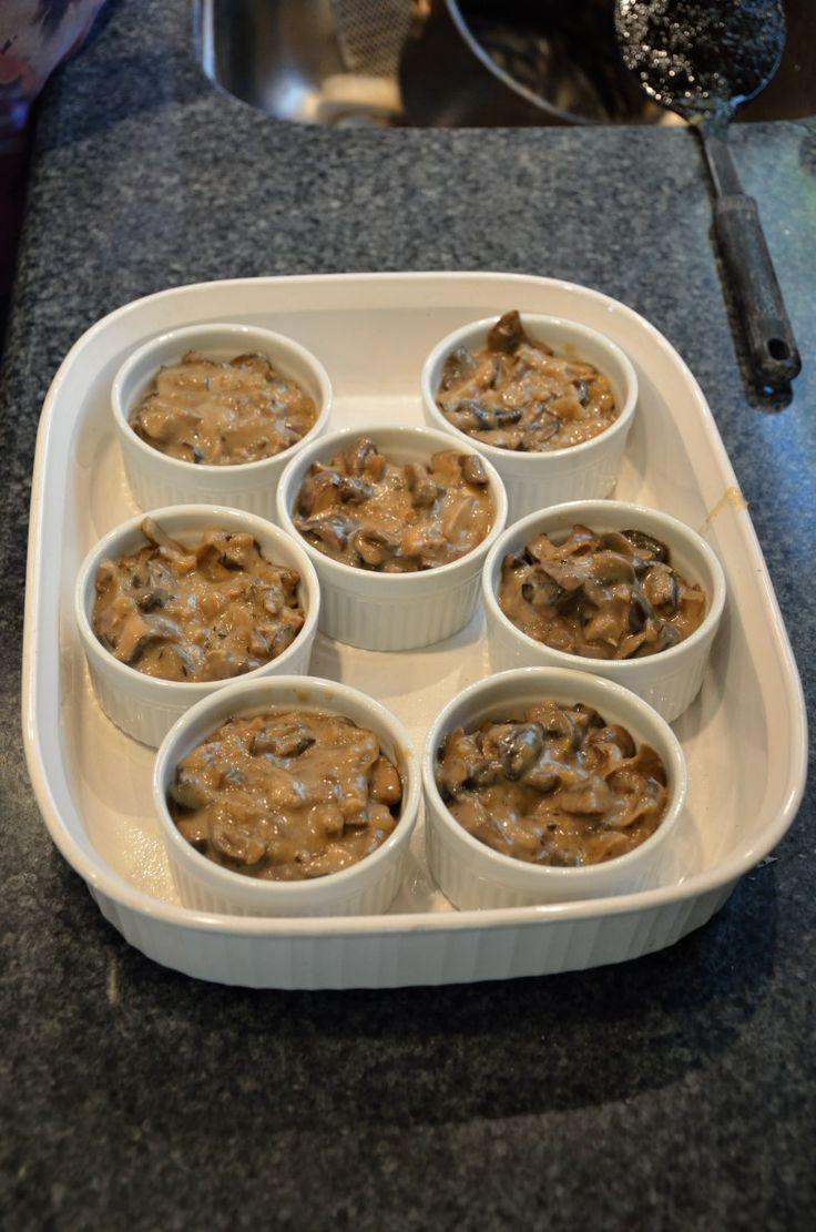 Mushroom cobbler recipe recipes pinterest mushrooms for Morel mushroom recipes food network