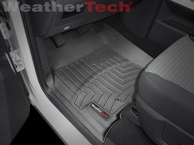 WeatherTech® DigitalFit FloorLiner - Dodge Ram 1500 Regular - 2009-2012 - Black #WeatherTech.