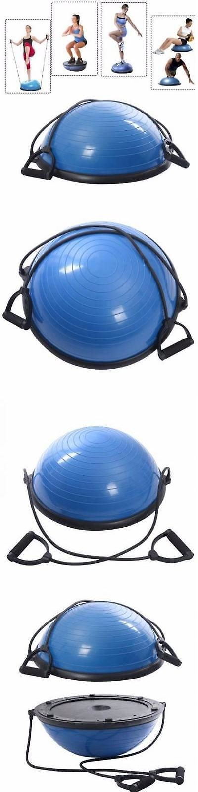 Balance Trainers 179803: Bosu Balance Ball Trainer Strength Training Equipment Yoga Endurance Workout -> BUY IT NOW ONLY: $57.73 on eBay!