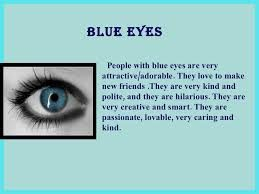 Image result for blue eye facts tumblr