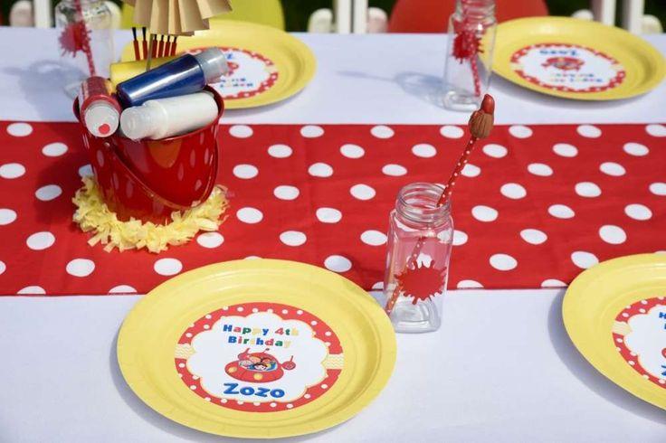 Little Einsteins plates & cups | Little Einstein birthday plates and cups