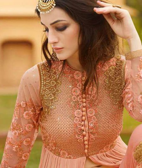 Anarkali Salwar Kameez Indian Bollywood Pakistani Designer Party Wedding Dress #Handmade #SalwarKameez