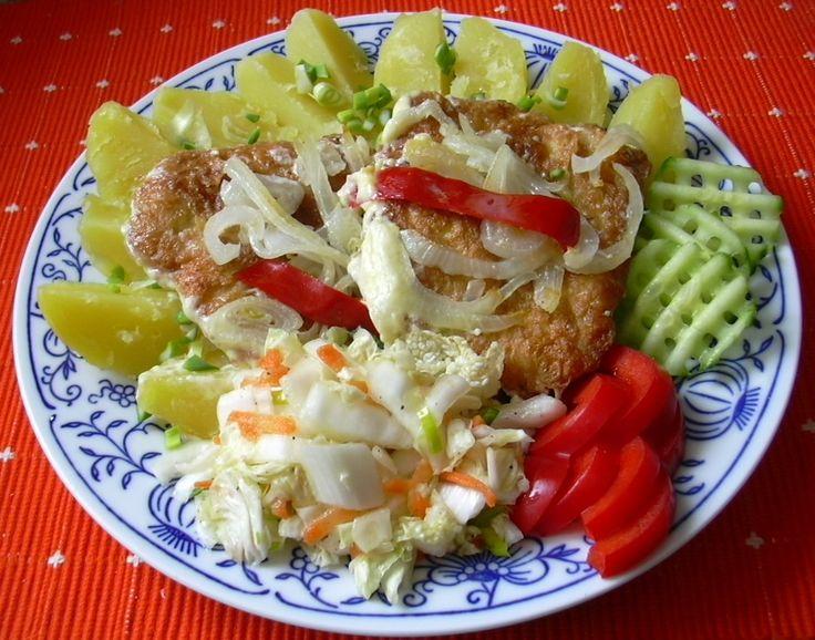 Zapečené kuřecí řízky :: Domací kuchařka - vyzkoušené recepty