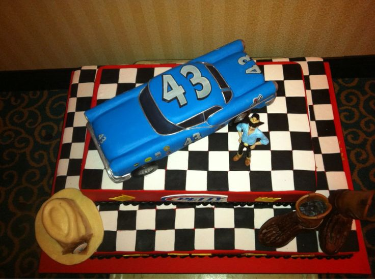 Richard Petty S 75th Birthday Cake Awesome Cakes