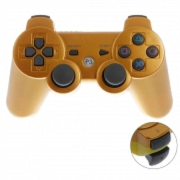 Wireless Bluetooth Two-color Game Controller for Sony PS3 / PC #UnbrandedGeneric
