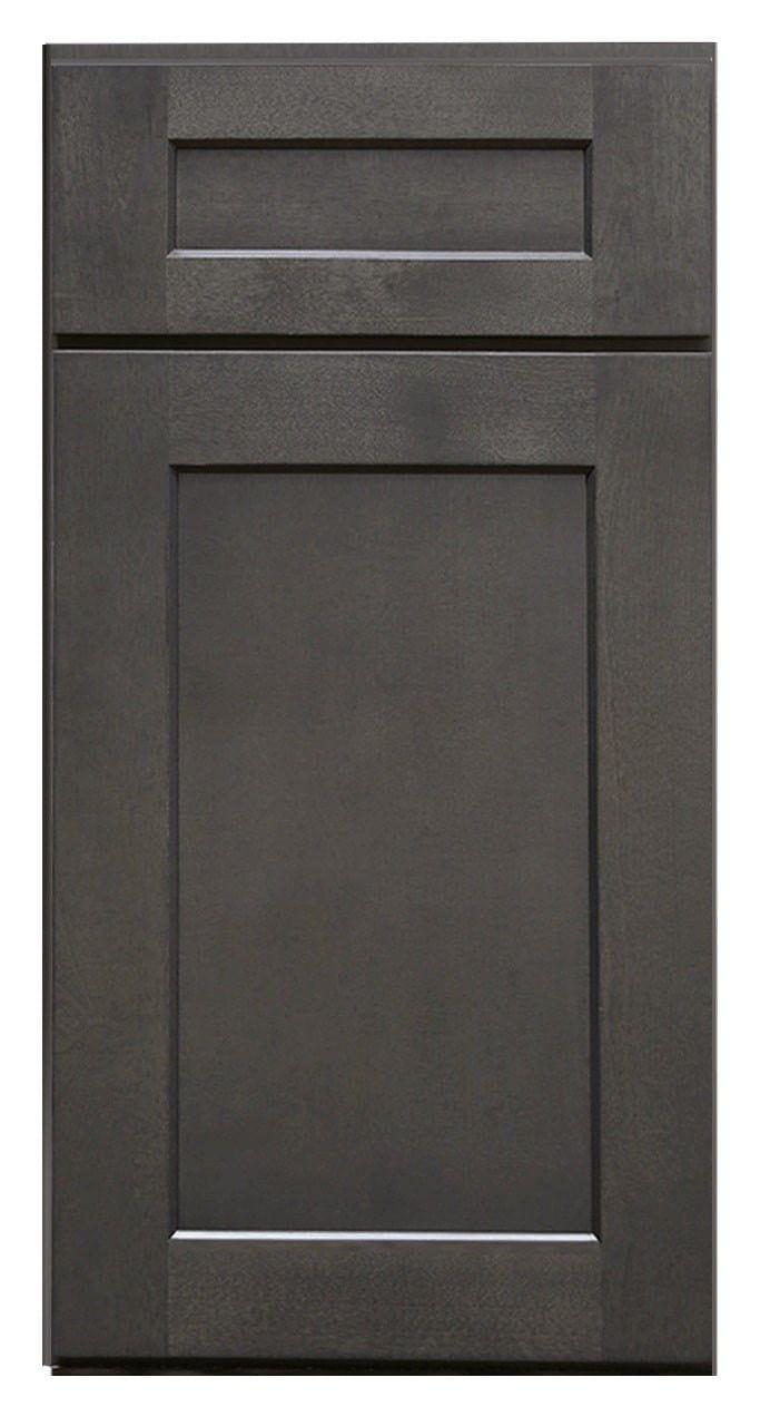 Charcoal Grey Shaker Sample Door Refacing Kitchen
