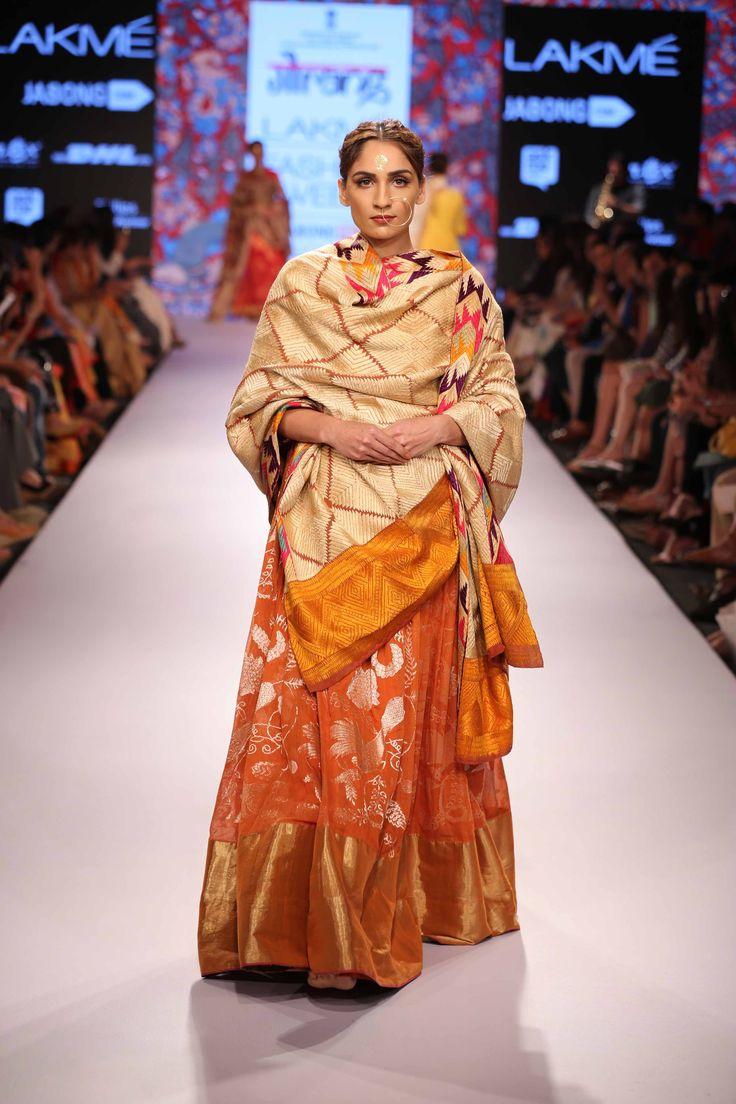 Glimpse of an amazing collection Gaurang at Lakme Fashion Week Summer Resort'15! #JabongLFW