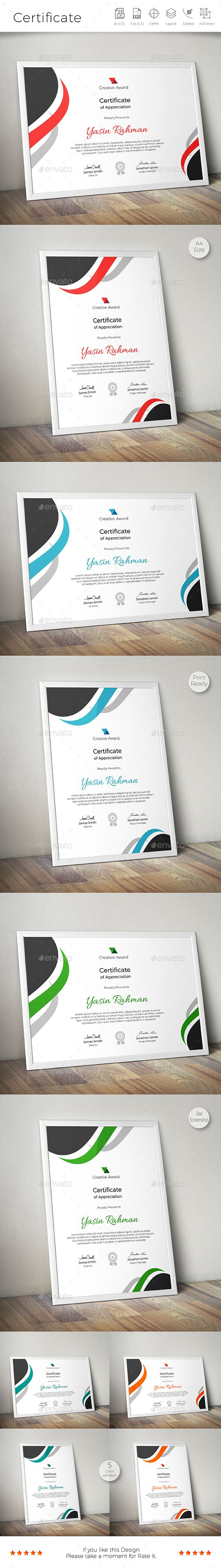 Certificate Template Vector EPS, AI Illustrator. Download here: http://graphicriver.net/item/certificate/16682109?ref=ksioks