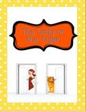 Short Story: The Lady or the Tiger five day lesson plan (g