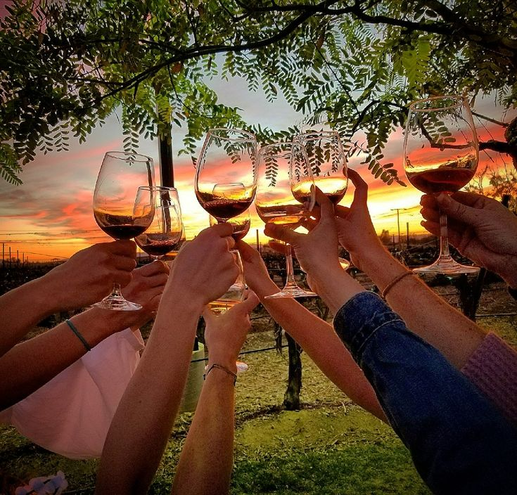 Group from last night at Lorimar winery. Love the sunset tours. Such a unique experience!  More info www.rockinwine.com/  #temecula #winecountry #sunset #winetasting #temeculawinecountry #bachelorette #bridetobe #wedding #Bridesmaids #fun #wine #winery