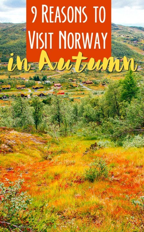 If you're wondering what the best season or time of year to visit Norway is, autumn might be your answer! Beautiful fall colors, autumn hikes, and cozy Norwegian cabins are just a few reasons to travel to Norway in autumn. Read on for the top 9 reasons to go...