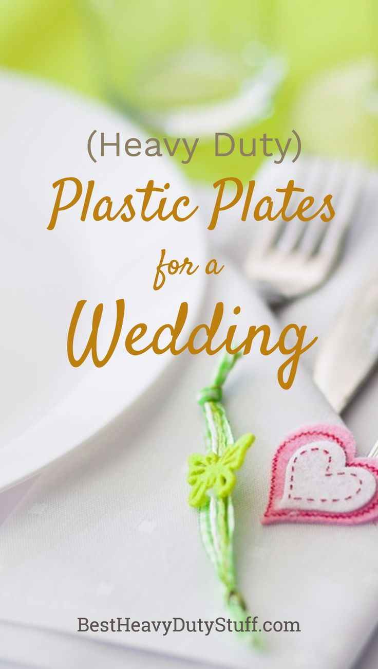 Elegant plastic plates for a wedding that are strong and durable for any type of food  sc 1 st  Pinterest & 14 best Heavy Duty Plastic Plates images on Pinterest | Plastic ...