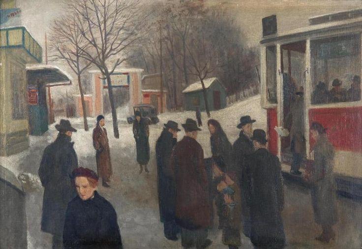 Josef Miltrus /Stanice tramvaje