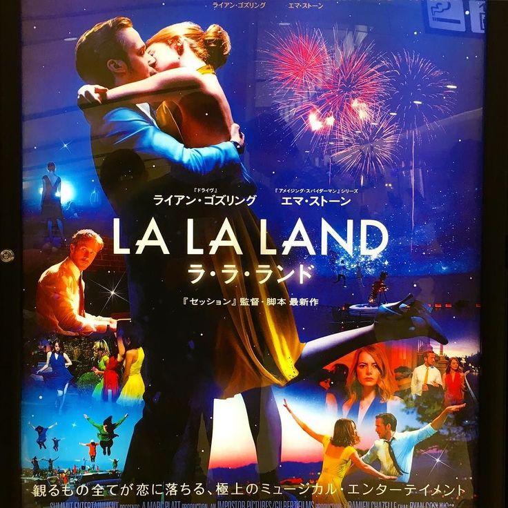 映画ララランド 賛否両論の本作ミュージカル映画ファンとしては期待半分不安半分話題のオープニングからミュージカルシーンでは歌と踊りを長回しで魅せる定番の演出に期待が膨らむ主演の二人の歌と踊りも往年のミュージカルスターとは違う意味で観ていて楽しい楽曲も素敵だったしちょっと切ないラストも余韻が残る感じで良かった 半世紀前に全盛だったミュージカル映画はミュージカルスターの歌と踊りとそれを引き立てる大掛かりなセットに魅了されるが本作は演出とカメラワークに特殊効果を加えて視覚的に魅了するよく出来た作品だ でも(想定内だが)往年のミュージカル映画のように愛せる作品ではない僕には(; #ララランド #映画 #movie #movix #亀有