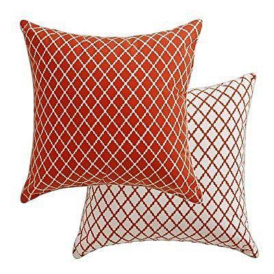 Antique Lattice Outdoor Cushion