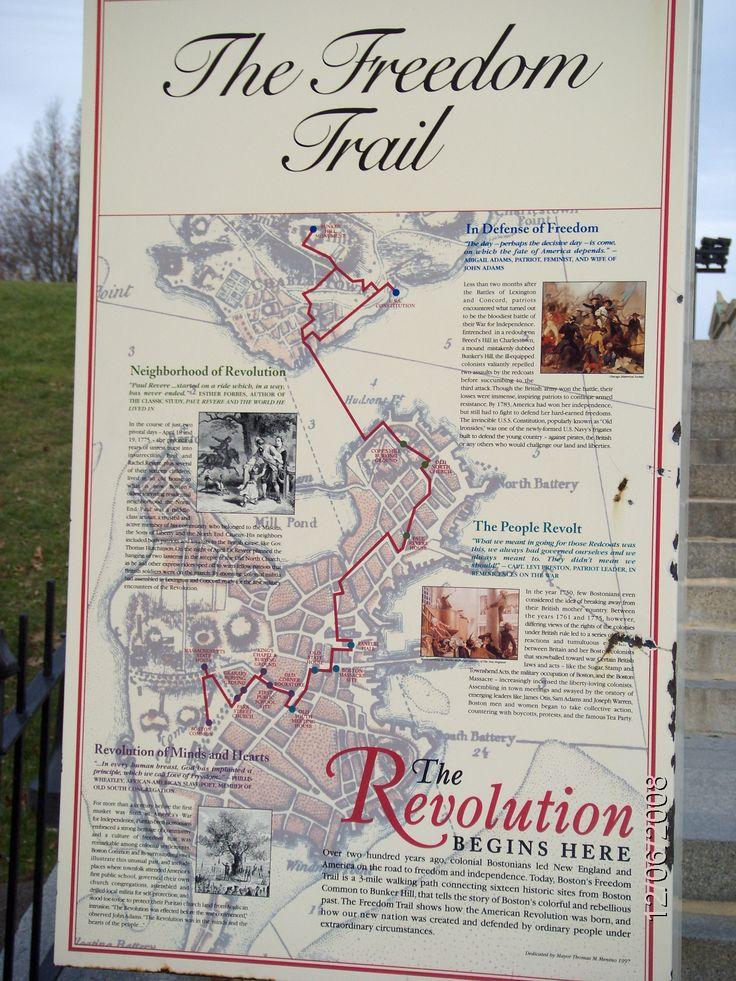 The Freedom Trail ~ Boston