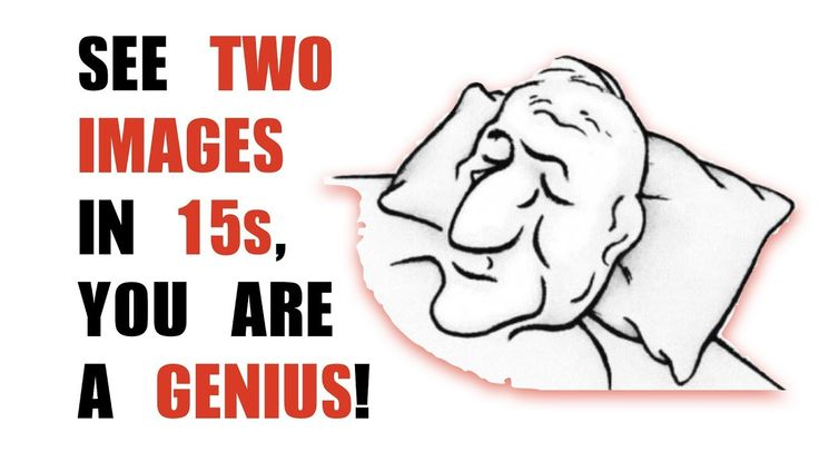12 ILLUSIONS  TO TEST YOUR BRAIN ♯4|see two images in 15s,  you are a genius - YouTube