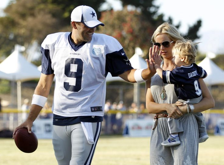 Tony Romo's wife on whether she wants her kids playing football, her family's future and life in the public eye.