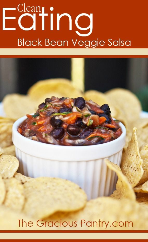 The 140 best clean eating ethnic food recipes images on pinterest clean eating black bean vegetable salsa recipe forumfinder Choice Image