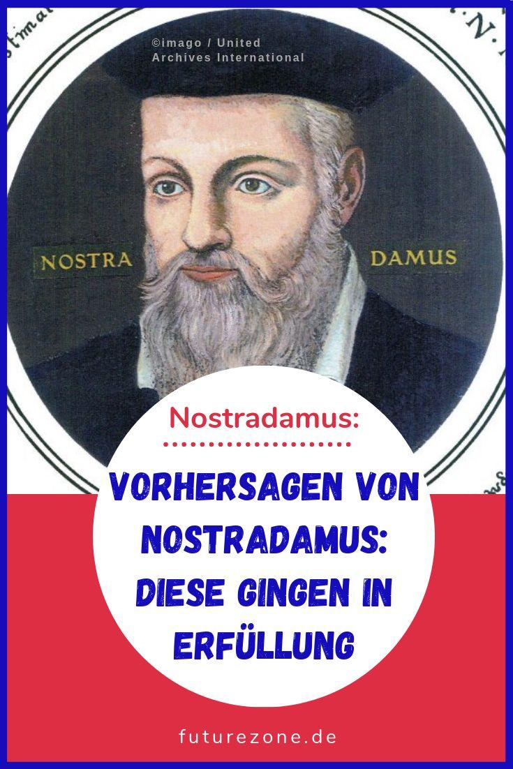 Vorhersagen Von Nostradamus