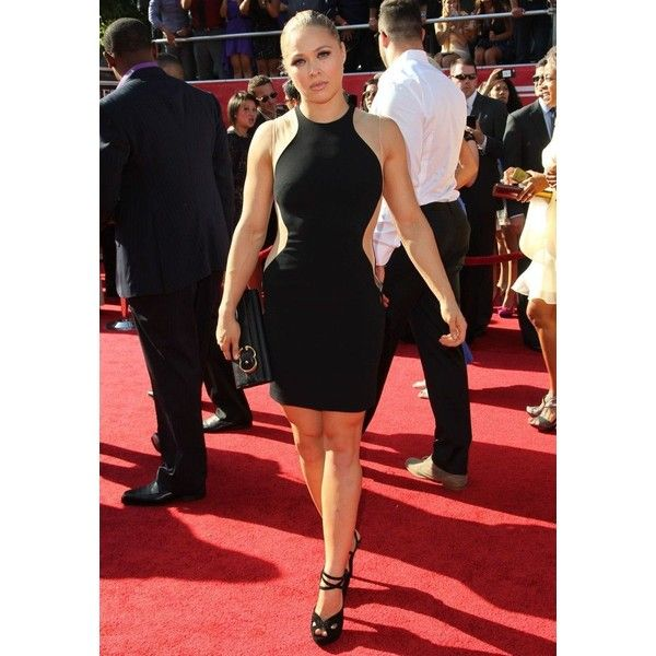 Ronda Rousey Voted #29 On Maxim Hot 100 List (Photos) ❤ liked on Polyvore