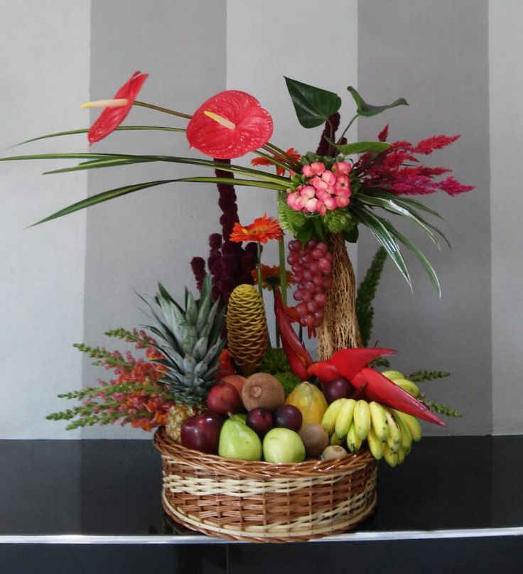 1000 Images About Artificial Fruit And Flower Arrangement