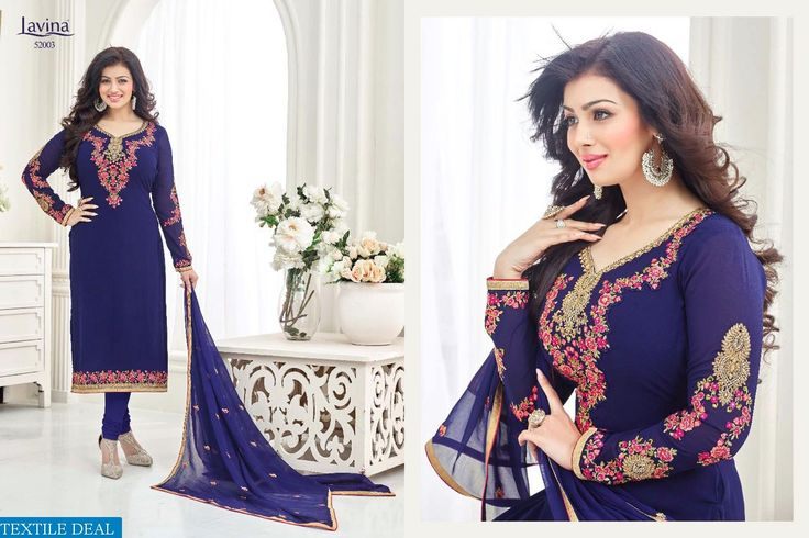 Shop Now #Lavina Wholesale Exclusive Straight Long Christmas Special Ethnic Suits Catalogs Online at Textiledeal.in