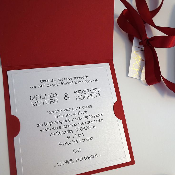 Best 25 Red silver wedding ideas – Red and Silver Wedding Invitations