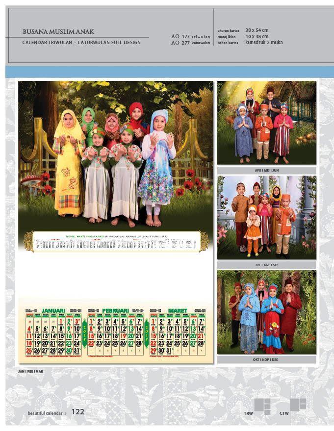 Kalender 2015 AO - Triwulan 3 Bulanan - Free Download Jpg Thumbnails Quality Preview - Tema Busana Muslim Anak-anak