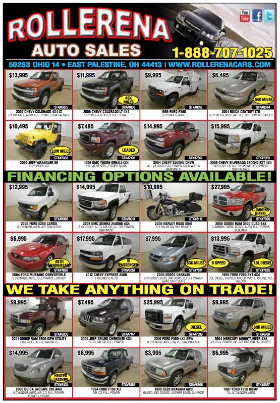 Rollerena Auto Sales Issue 4 Of 2014 Drive Magazine