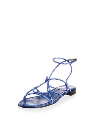 53% OFF Stuart Weitzman Women's Cordy Sandal (Royal Laniard)