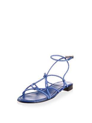 53% OFF Stuart Weitzman Women's Cordy Sandal (Royal Laniard)