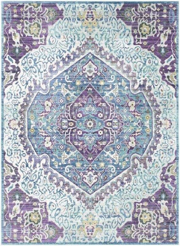 Image Result For Purple Red Blue Area Rug With Images Blue