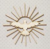 Duch Święty w Promieniach - Tekturki