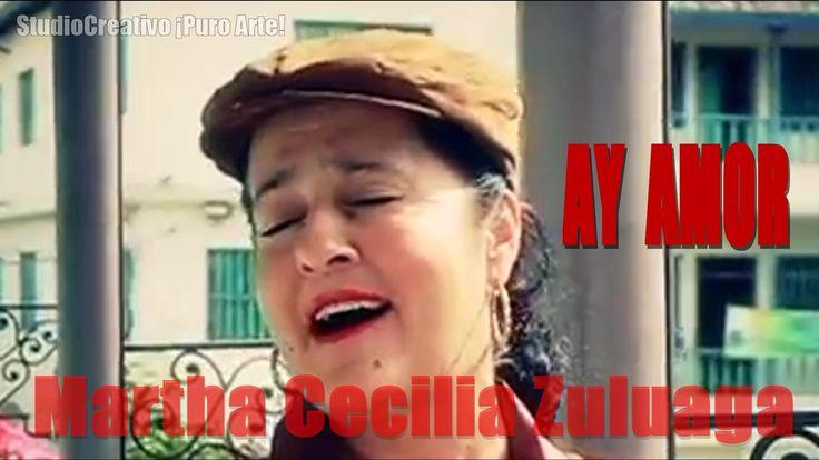"""AY AMOR - MARTHA CECILIA ZULUAGA http://marthaceclia.tumblr.com Hermosa interpretación de la balada """"AY AMOR"""" de Ana Gabriel, por la cantora colombiana MARTHA CECILIA ZULUAGA."""